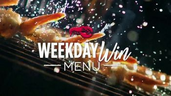 Red Lobster Weekday Win Menu TV Spot, 'Five Days, Five Deals'