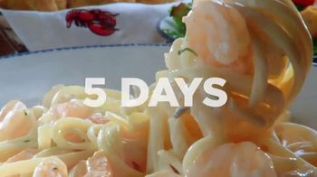 Red Lobster Weekday Win Menu TV Spot, 'Five Days, Five Deals' - Thumbnail 3