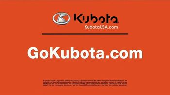Kubota BX80 Tractor TV Spot, 'Built to Get Any Job Done: Instant Rebate' - Thumbnail 10
