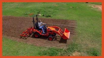Kubota BX80 Tractor TV Spot, 'Built to Get Any Job Done: Instant Rebate' - Thumbnail 2