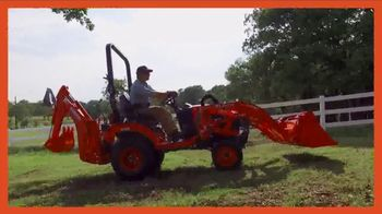 Kubota BX80 Tractor TV Spot, 'Built to Get Any Job Done: Instant Rebate' - Thumbnail 3