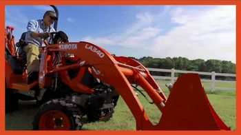 Kubota BX80 Tractor TV Spot, 'Built to Get Any Job Done: Instant Rebate' - Thumbnail 6