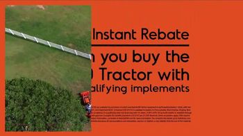Kubota BX80 Tractor TV Spot, 'Built to Get Any Job Done: Instant Rebate' - Thumbnail 7
