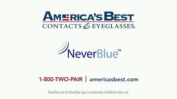 America's Best Contacts and Eyeglasses TV Spot, 'Workout: NeverBlue' - Thumbnail 10
