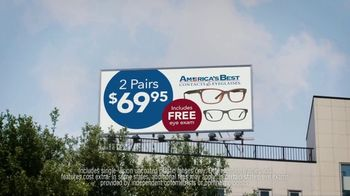 America's Best Contacts and Eyeglasses TV Spot, 'Workout: NeverBlue' - Thumbnail 5