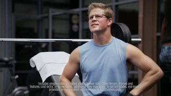 America's Best Contacts and Eyeglasses TV Spot, 'Workout: NeverBlue' - Thumbnail 6