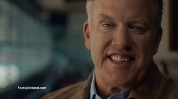 Endo Pharmaceuticals TV Spot, 'Facts on Hand: Nonsurgical Treatment' Featuring John Elway - 6688 commercial airings
