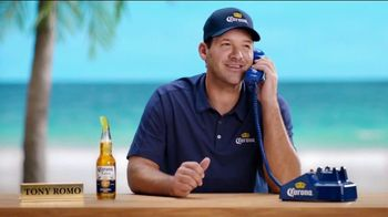 Corona Extra TV Spot, 'Football Rules' Featuring Tony Romo - Thumbnail 2