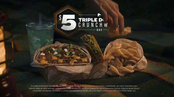 Taco Bell Triple Double Crunchwrap Box TV Spot, 'Lluvia de meteoritos' [Spanish] - Thumbnail 9
