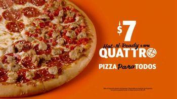 Little Caesars Pizza HOT-N-READY Quattro TV Spot, '¡Guau!' [Spanish] - Thumbnail 7