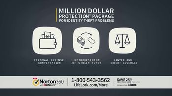 Norton 360 with LifeLock TV Spot, 'Celeb 25 Info 1' - 967 commercial airings