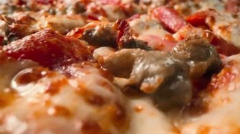 Papa John's TV Spot, 'Large Meats or Works Pizza' Song by Rick James - Thumbnail 1