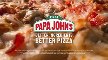 Papa John's TV Spot, 'Large Meats or Works Pizza' Song by Rick James - Thumbnail 6