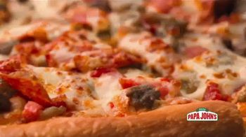 Papa John's TV Spot, 'Large Meats or Works Pizza' Song by Rick James - Thumbnail 4