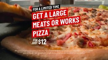Papa John's TV Spot, 'Large Meats or Works Pizza' Song by Rick James - Thumbnail 5