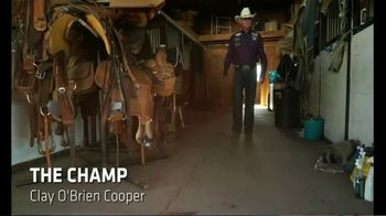Cactus Saddlery TV Spot, 'The Champ' Featuring Clay O'Brien Cooper