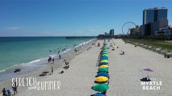 Visit Myrtle Beach TV Spot, 'Stretch Your Summer: Our Favorite Places' Song by Hootie & the Blowfish - Thumbnail 1