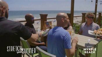 Visit Myrtle Beach TV Spot, 'Stretch Your Summer: Our Favorite Places' Song by Hootie & the Blowfish - Thumbnail 6