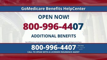GoMedicare TV Spot, 'More Benefits'