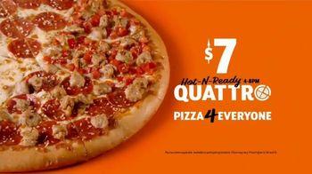 Little Caesars Pizza HOT-N-READY Quattro TV Spot, 'Holy Smokes' - Thumbnail 8