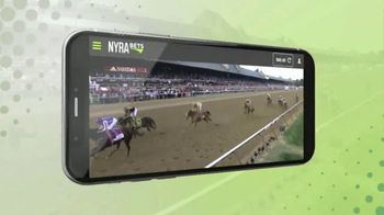 NYRA Bets App TV Spot, 'Watch Live From Anywhere' - Thumbnail 2