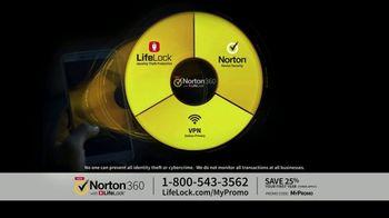 Norton 360 with LifeLock TV Spot, 'General 120 25'