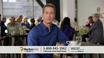 Norton 360 with LifeLock TV Spot, 'General 120 25'