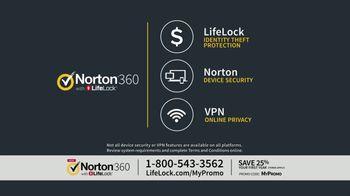 Norton 360 with LifeLock TV Spot, 'General 120 25' - Thumbnail 7
