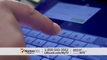 Norton 360 with LifeLock TV Spot, 'Celeb 120 25' Featuring Angie Harmon - Thumbnail 2