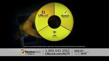 Norton 360 with LifeLock TV Spot, 'Celeb 120 25' Featuring Angie Harmon