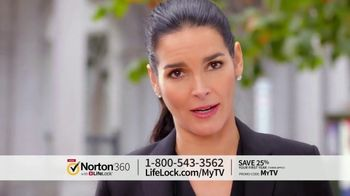 Norton 360 with LifeLock TV Spot, \'Celeb 120 25\' Featuring Angie Harmon