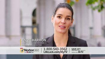Norton 360 with LifeLock TV Spot, 'Celeb 120 25' Featuring Angie Harmon - Thumbnail 8