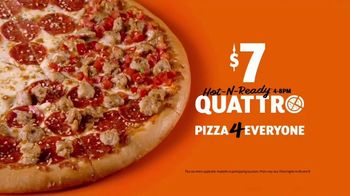 Little Caesars HOT-N-READY Quattro Pizza TV Spot, 'Quattro Brothers: Singing Voices' - Thumbnail 8