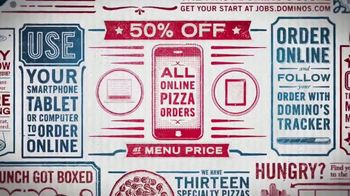 Domino's TV Spot, 'Half Off' - Thumbnail 3