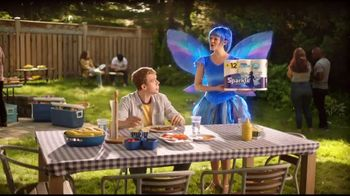 Sparkle Towels TV Spot, 'Ribs Giants' - Thumbnail 3