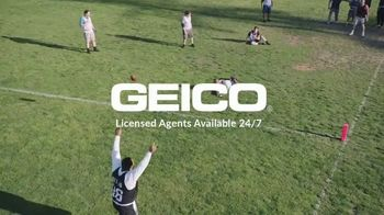 GEICO TV Spot, 'Flag Football with Jerome Bettis' - Thumbnail 10