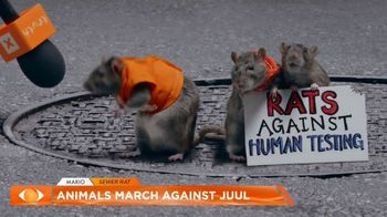 Truth TV Spot, 'The March Against JUUL: Tested on Humans' Featuring Doug the Pug - Thumbnail 4
