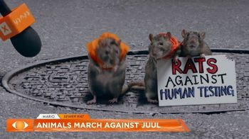 Truth TV Spot, 'The March Against JUUL: Tested on Humans' Featuring Doug the Pug - Thumbnail 5