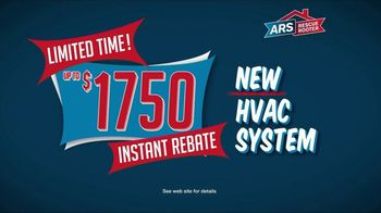 ARS Rescue Rooter Fall Into Savings TV Spot, 'New HVAC System' - Thumbnail 3