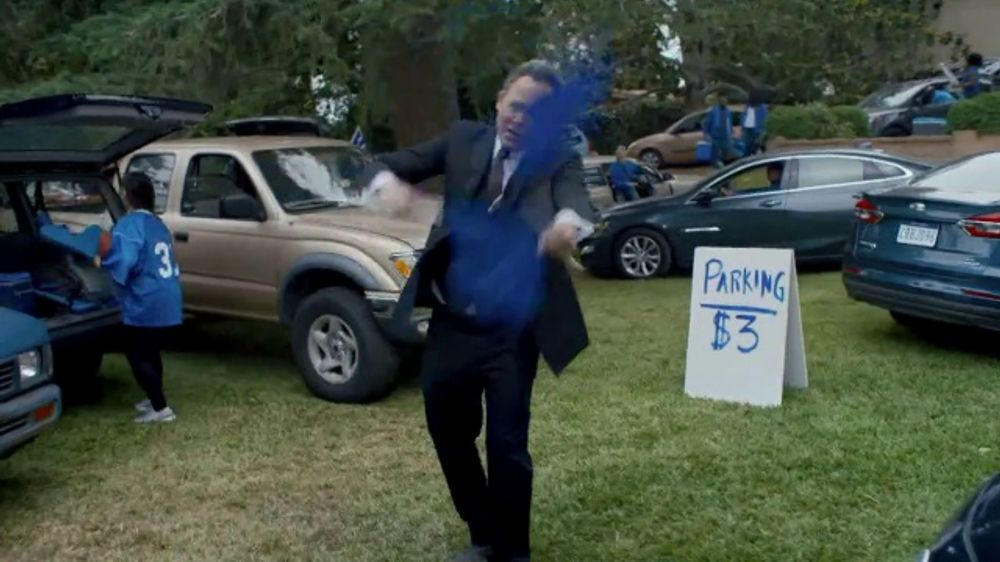 Allstate TV Commercial, 'Mayhem: Parking Guy' Featuring Dean Winters - Video