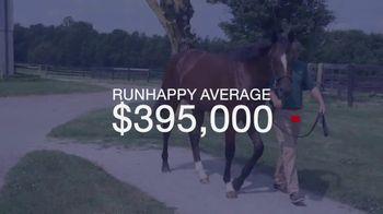 Claiborne Farm TV Spot, 'Runhappy: Saratoga Sale Results' - Thumbnail 3