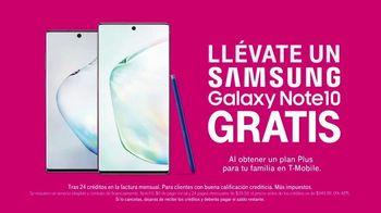 T-Mobile Unlimited TV Spot, 'Llévate un Samsung Note10 gratis' [Spanish] - Thumbnail 7
