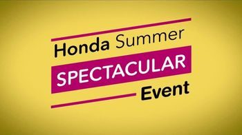 Honda Summer Spectacular Event TV Spot, 'SUVs On Clearance' [T2] - Thumbnail 3