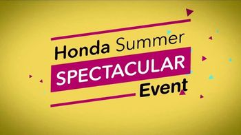 Honda Summer Spectacular Event TV Spot, 'SUVs On Clearance' [T2] - Thumbnail 9