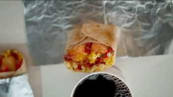 Del Taco Breakfast Toasted Wrap TV Spot, 'Say Good Morning' - Thumbnail 1