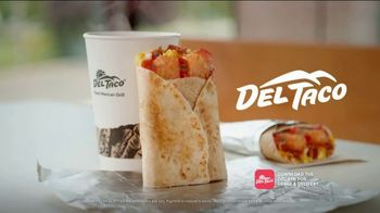 Del Taco Breakfast Toasted Wrap TV Spot, 'Say Good Morning' - Thumbnail 9