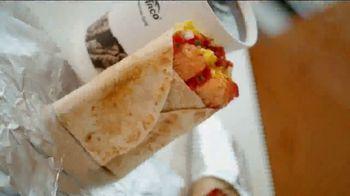 Del Taco Breakfast Toasted Wrap TV Spot, 'Say Good Morning' - Thumbnail 2