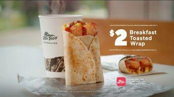 Del Taco Breakfast Toasted Wrap TV Spot, 'Say Good Morning' - Thumbnail 8