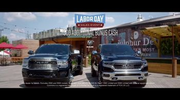 Ram Trucks Labor Day Sales Event TV Spot, 'Loyalty' Song by Eric Church [T2] - Thumbnail 8