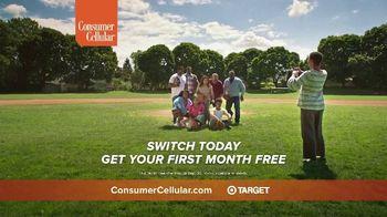 Consumer Cellular TV Spot, 'Baseball: First Month Free' - Thumbnail 6